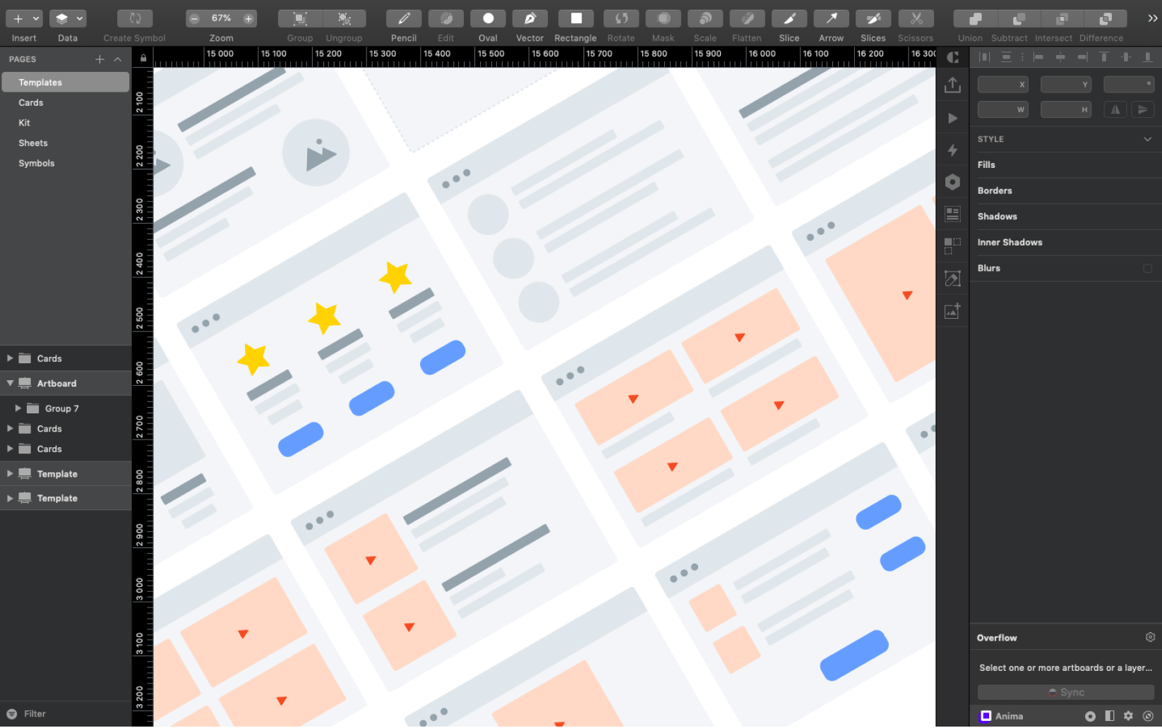Greyhound - Free Flowcharts for Figma & Sketch App